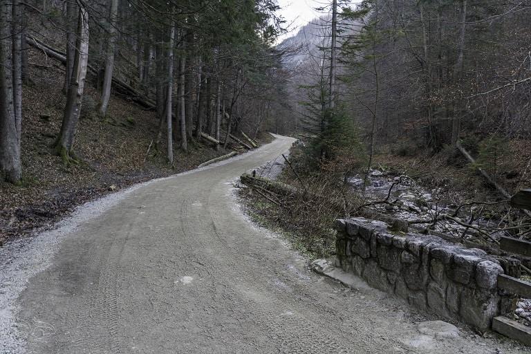 dolina strążyska trasa