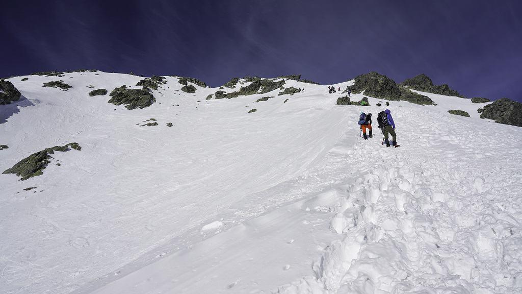 Kozi Wierch szlak zimowy