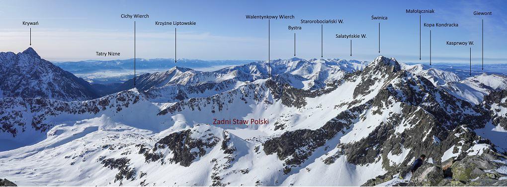 Kozi Wierch Panorama