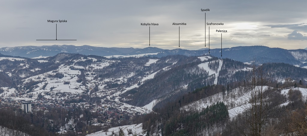 Schronisko pod Beresnikiem Panorama