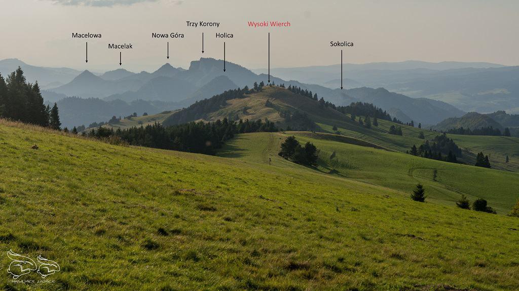 Wysoki Wierch panorama