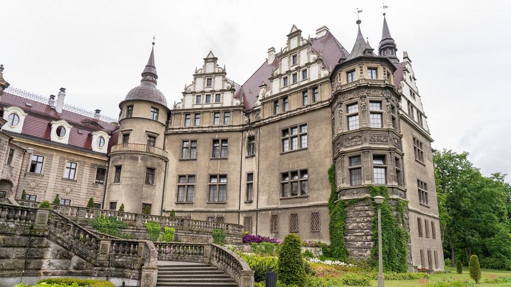 Zamek Moszna zwiedzanie