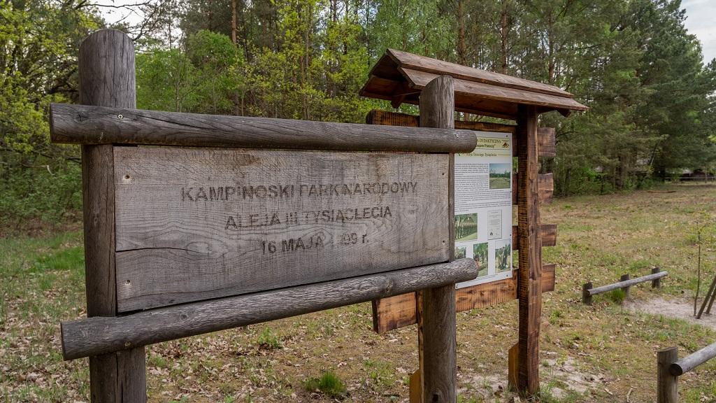 kampinoski park narodowy ciekawostki