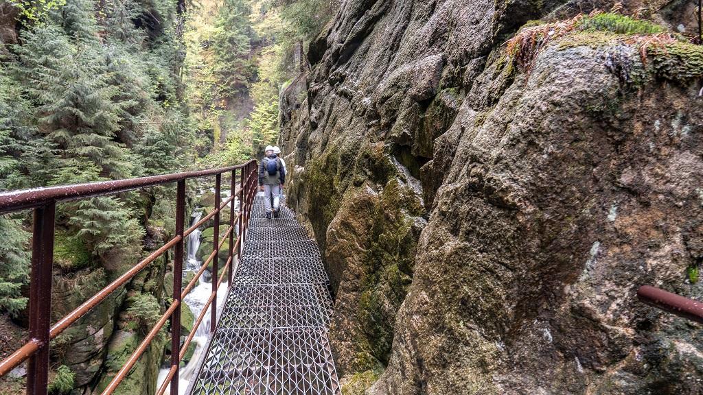 Wodospad Kamieńczyka szlak