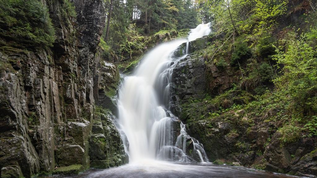 Wodospad Kamienczyka - wejście na Szrenicę