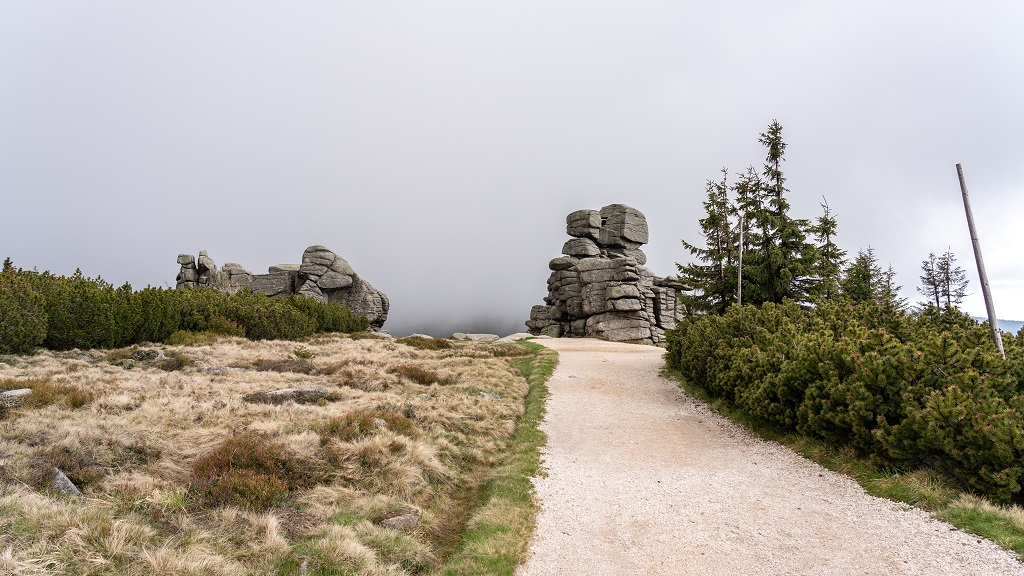 Trzy Świnki Karkonosze - szlak na Szrenicę