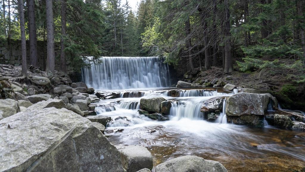Dziki Wodospad - atrakcje turystyczne Karpacza