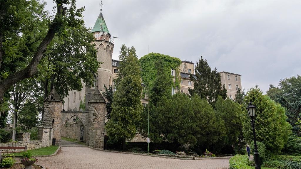 Zamek Leśna Skała Kotlina Kłodzka