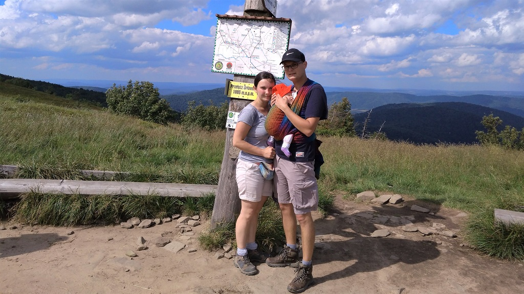 Chustowanie w górach