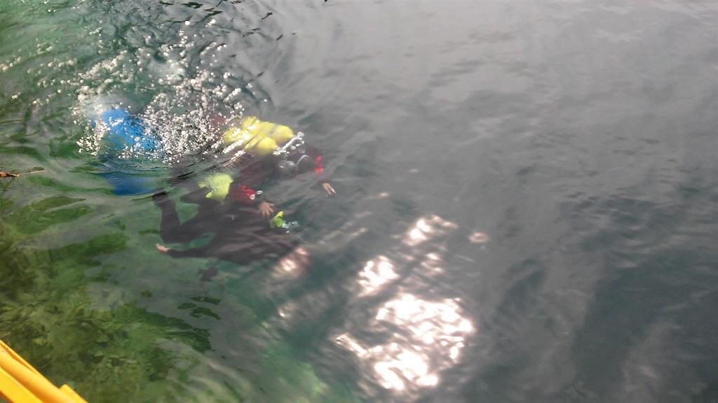 nurkowanie na zakrzówku