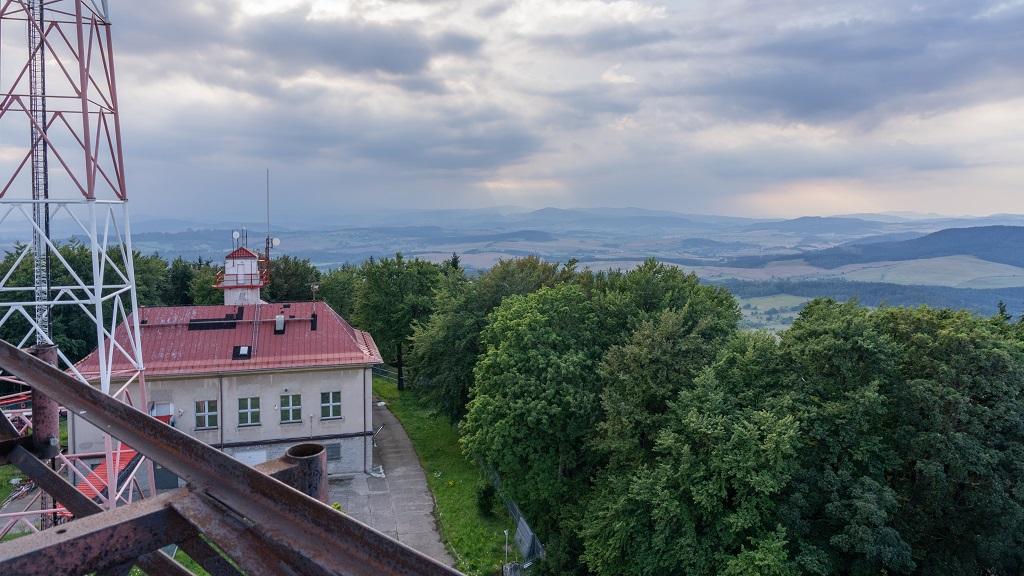 Chełmiec panorama - Korona Gór Polski