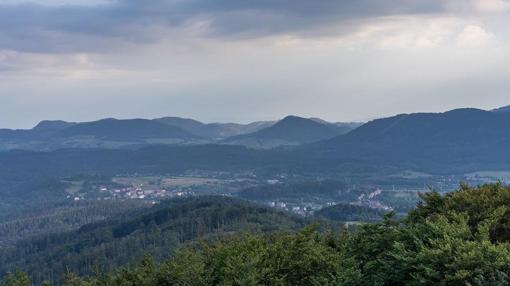 Chełmiec panorama