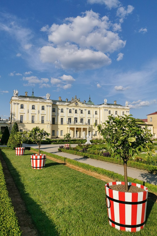 Pałac Branickich Ogrody