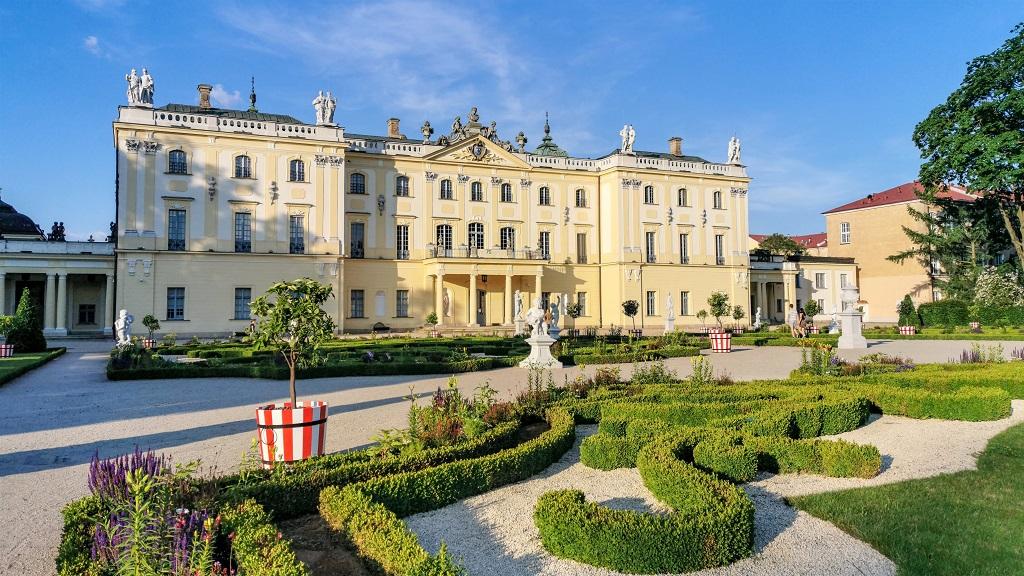 Pałac Branickich - atrakcje Podlasia