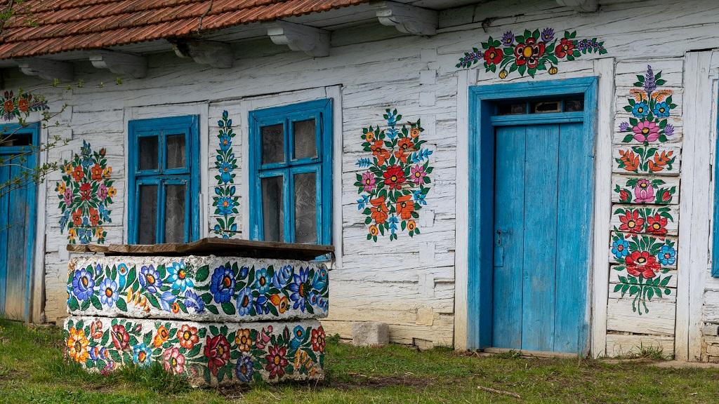 Kolorowy Dom w Zalipiu
