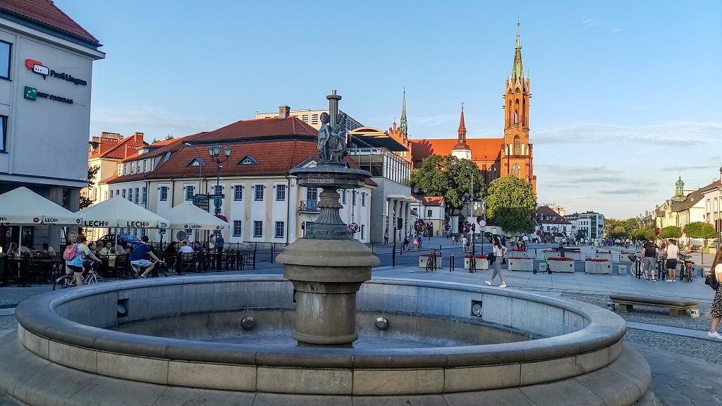 ciekawe miejsca na Podlasiu - Rynek w Białymstoku