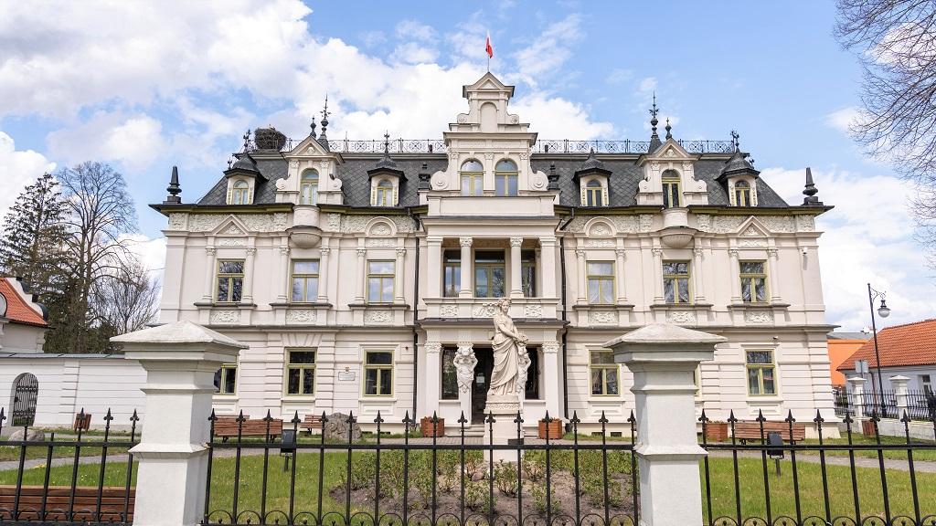 Pałac Buchholtzów w Supraślu