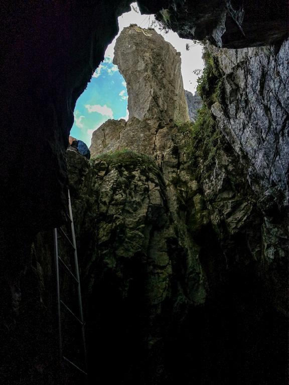 jaskinia raptawicka drabinka