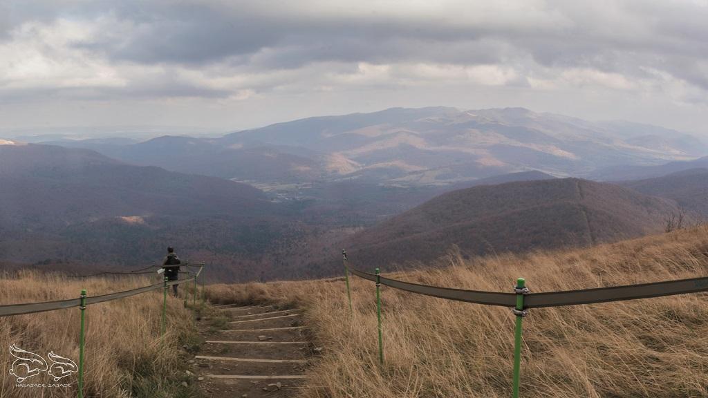 Wielka Rawka szlak z Ustrzyk
