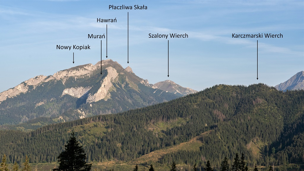 rusinowa polana panorama