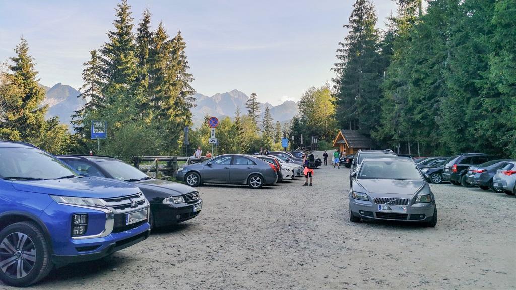 rusinowa polana wierch poroniec parking