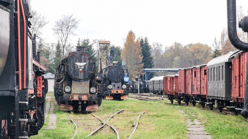 Skansen Taboru Kolejowego obok Rabki Zdrój