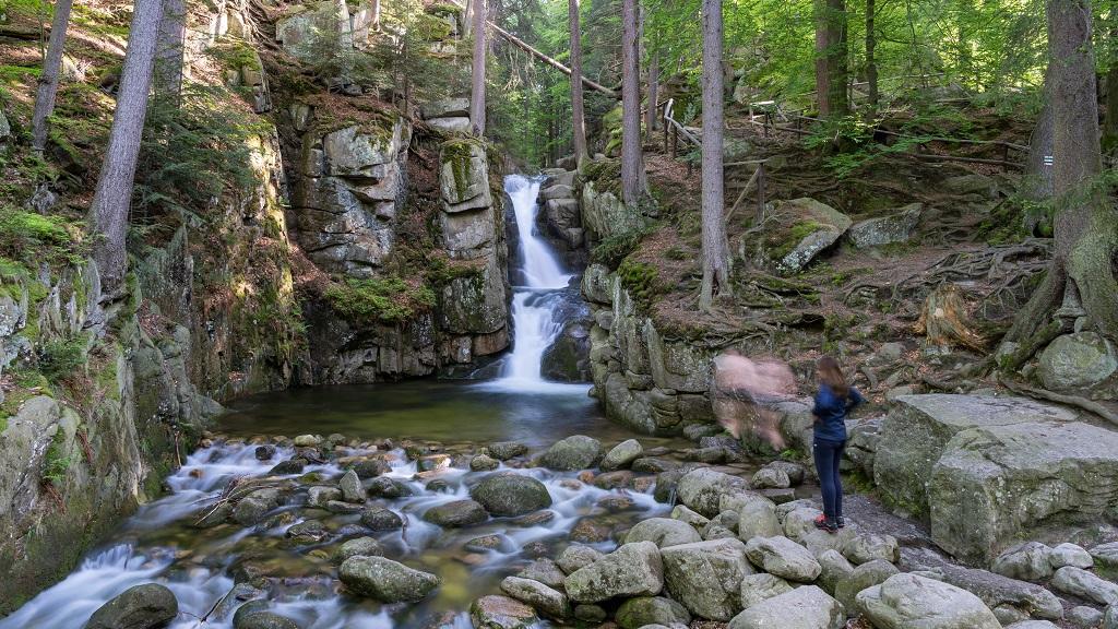 Wodospad Podgórnej Karkonosze