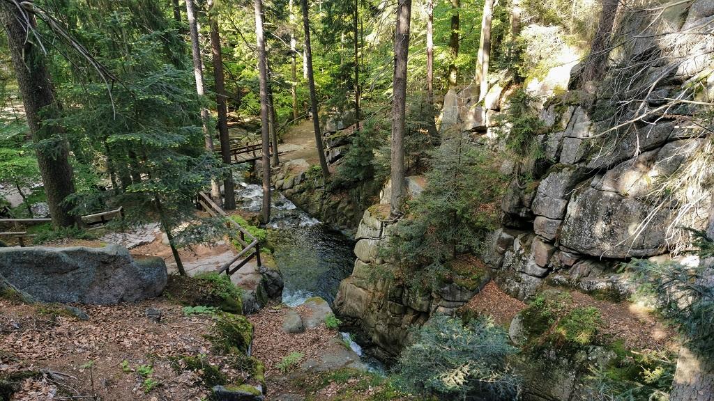 wodospad podgornej karkonosze