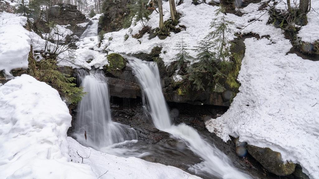 Kaskady Rodla - Barania Góra