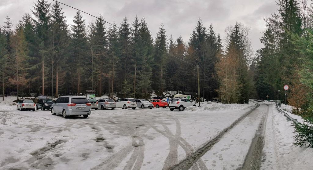 barania góra parking