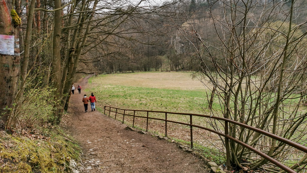Dolina Mnikowska szlak