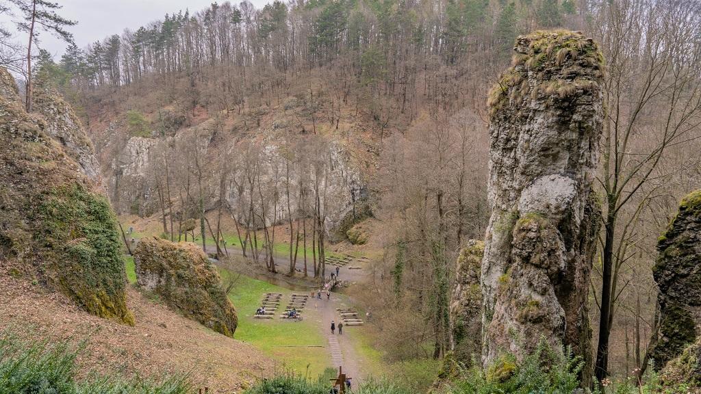 Dolina Mnikowska cyrk