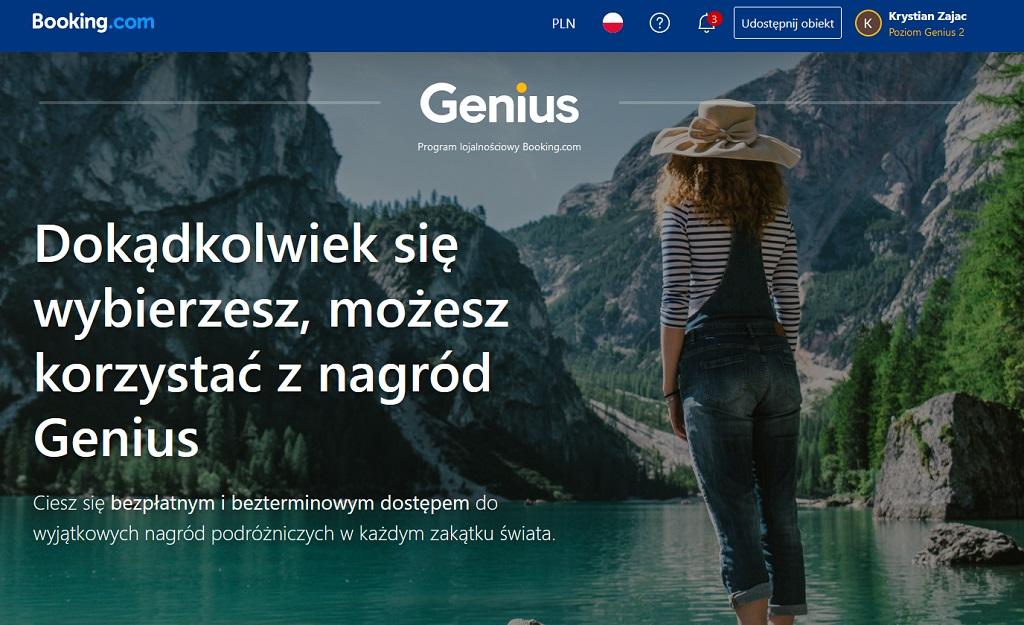 booking.com genius