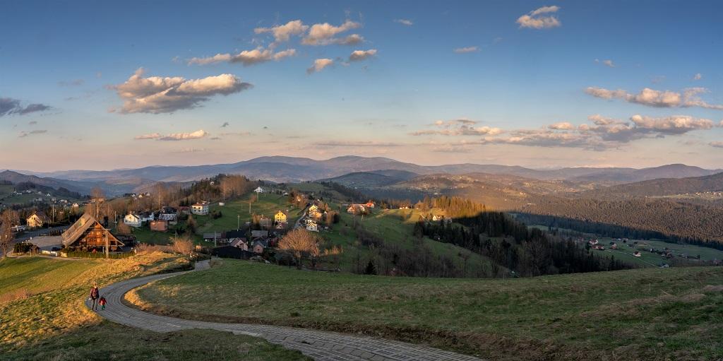 Ochodzita panorama