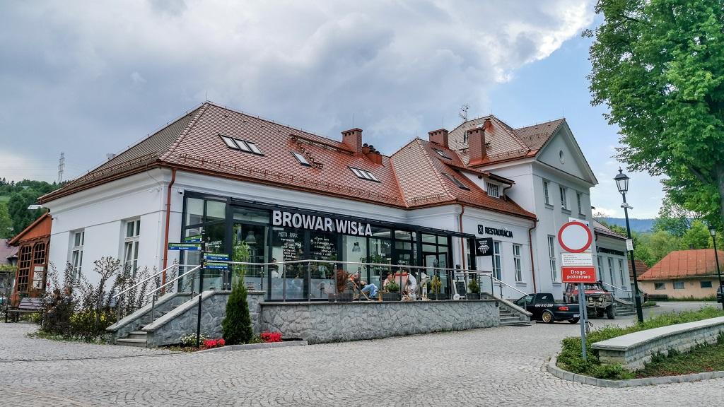 dworzec kolejowy w Wiśle