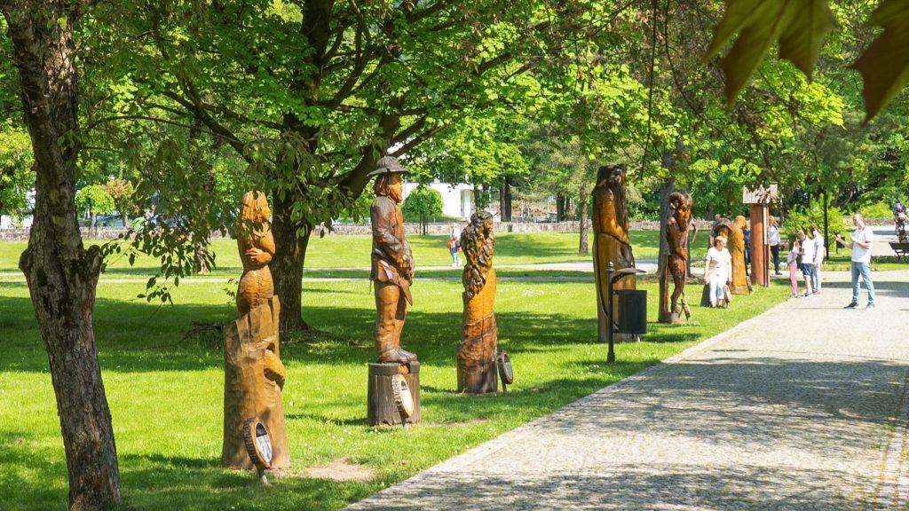 park w Wiśle