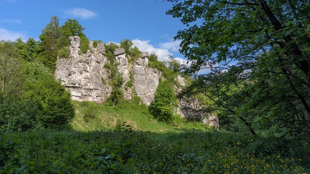 dolina kluczwody zamek
