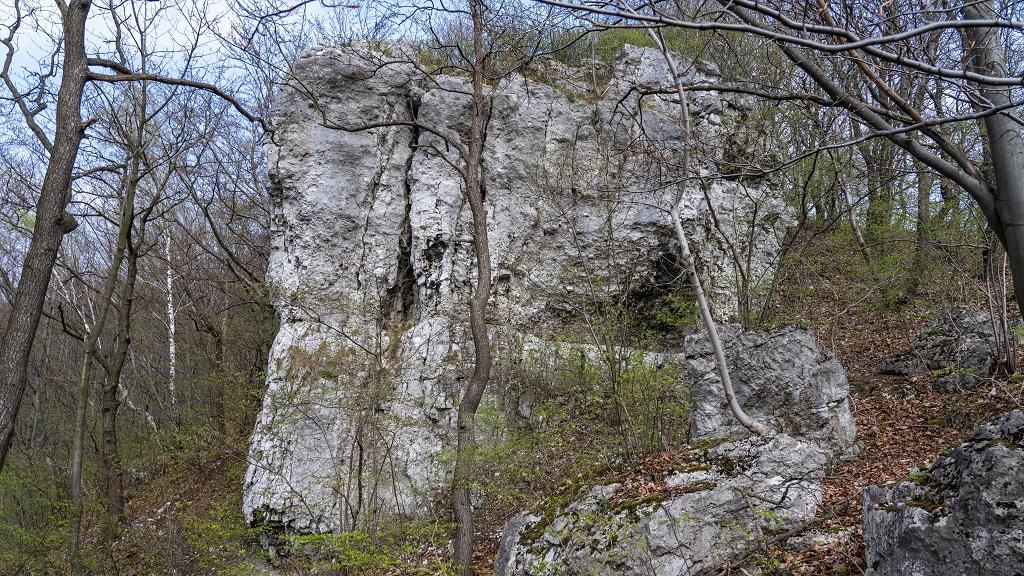 Dolina Kluczwody skałki