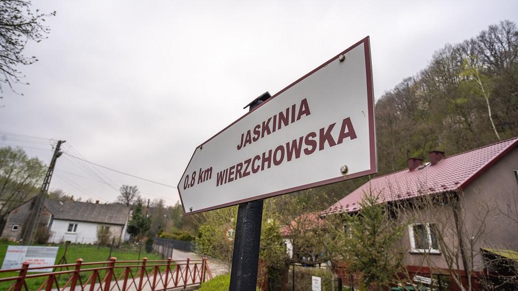 Dolina Wierzchowska w Dolinie Kluczwody