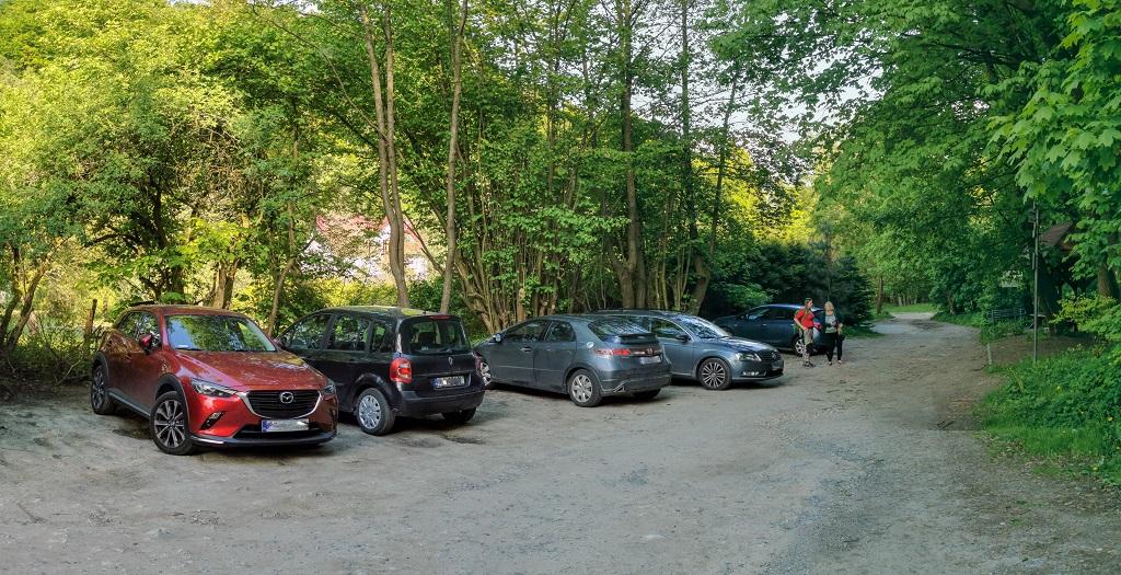 Dolina Kluczwody parking