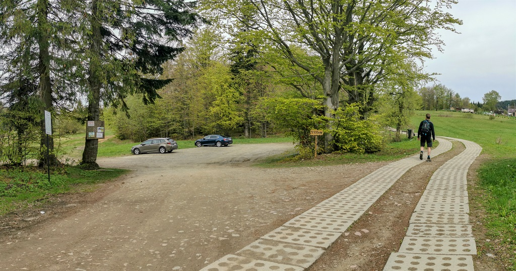 Radziejowa parking