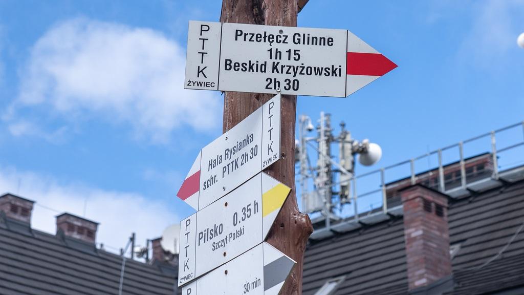 szlaki na Pilsko