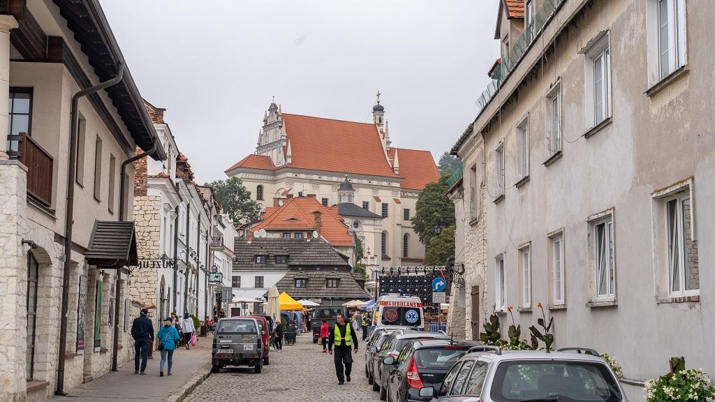Stare miasto w Kazimierzu Dolnym