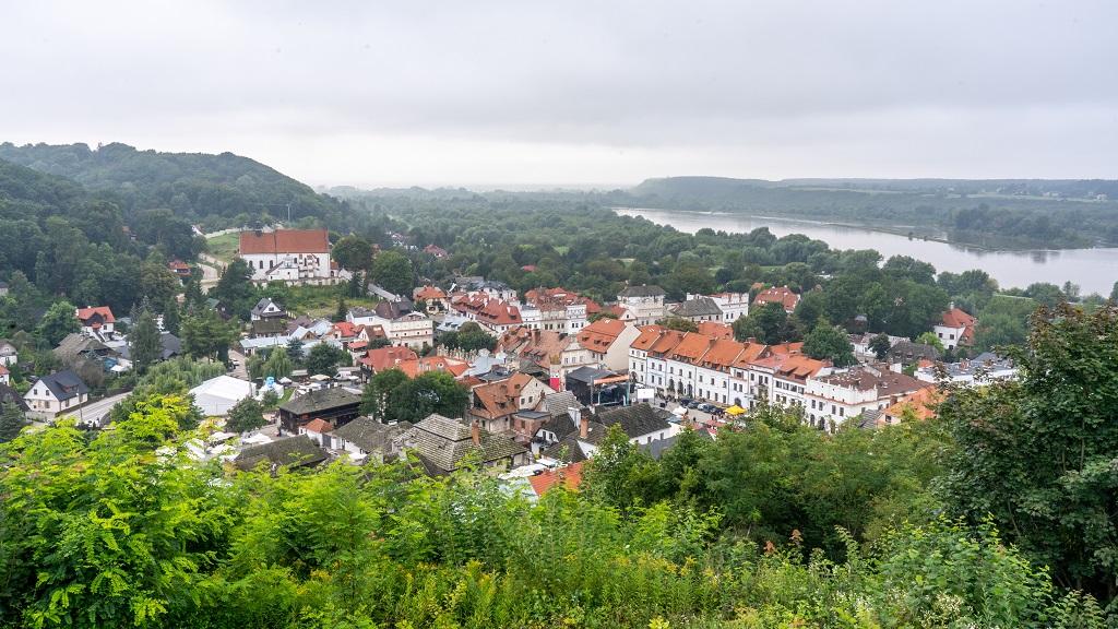 Kazimierz Dolny - widok ze wzgórza Trzech Krzyży