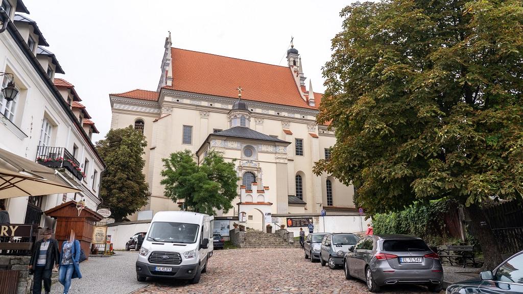 kościoł parafialny w Kazimierzu Dolnym