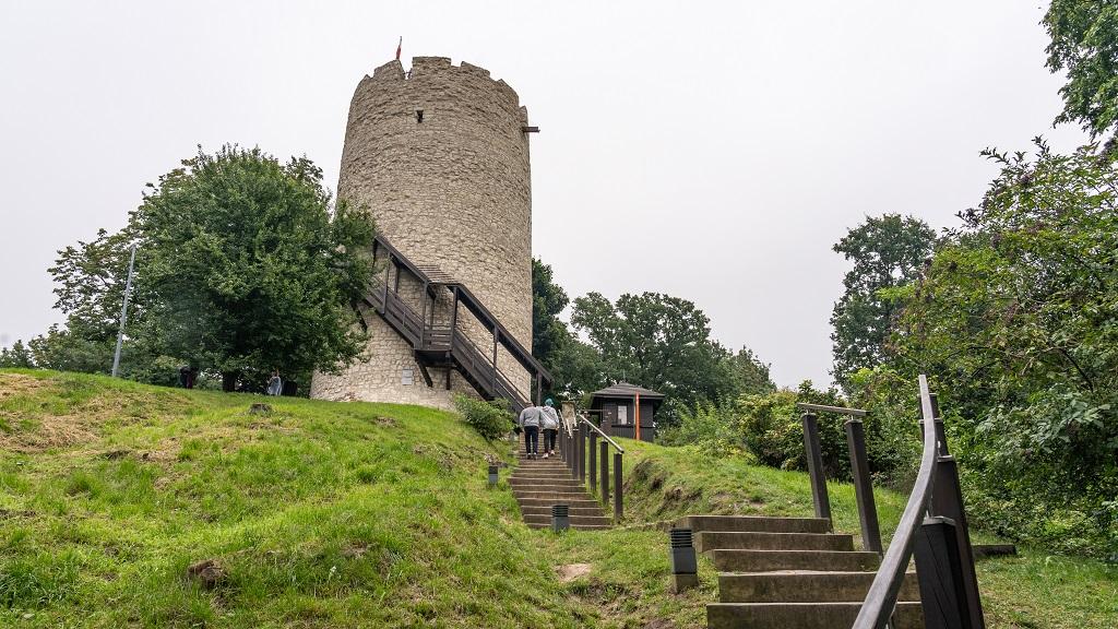 baszta na zamku w Kazimierzu Dolnym