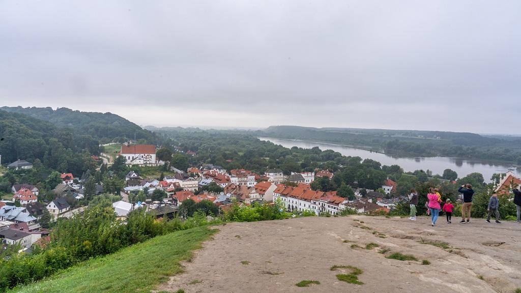 panorama na Kazimierz Dolny