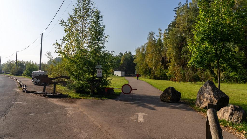 Zbiornik Wydra trasa