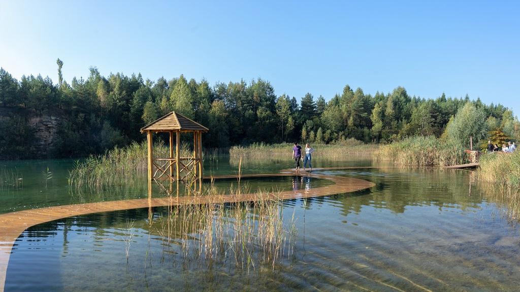 Park Gródek Zbiornik Wydra