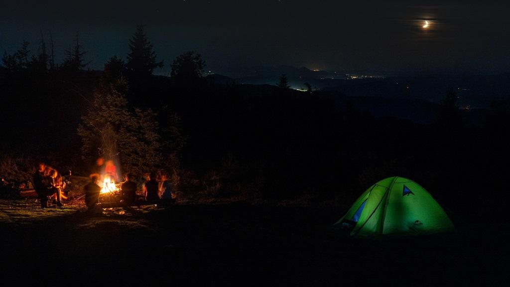 Wielka Racza namiot